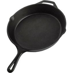 12 Inch Cast Iron Skillet Pre-Seasoned Cookware Nonstick Pan