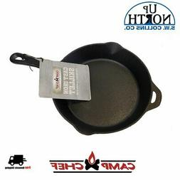 Camp Chef 1434; Seasoned Cast Iron Skillet 14 IN Free Shippi