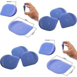 3 Pack Pan Scrapers Plastic Cleaning Tool Cast Skillet Iron