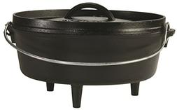 Lodge 4 Quart Cast Iron Camp Dutch Oven