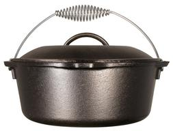 Lodge 9 Quart Cast Iron Dutch Oven