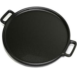 "Home-Complete HC-5001 Cast Iron Pizza Pan-14"" Skillet for"