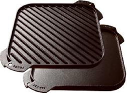 Lodge LSRG3 Cast Iron Single-Burner Reversible Grill/Griddle
