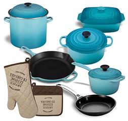 Le Creuset 12 Piece Basic Kitchen Essentials Cookware Bundle