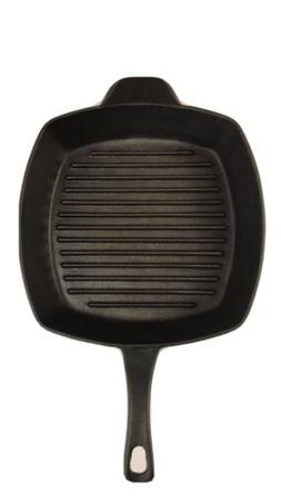 Cast by Calphalon Griddle Large Square Cast Iron Grill Pan S