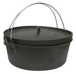 Stansport Cast Iron 4qt Dutch Oven without Legs