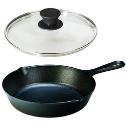 Cast Iron Frying Pan With Lid Set Small LODGE Cookware Skill