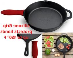 Cast Iron Skillet 12.5 Inch Fry Pan Oven Pre-Seasoned Cookwa