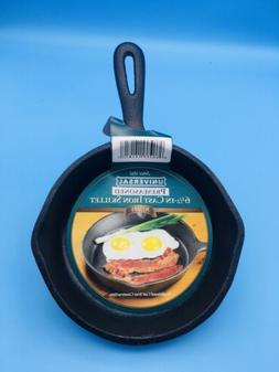 CAST IRON SKILLET 6 1/2 In UNIVERSAL #181 New Item