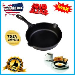 Cast Iron Skillet by Victoria Pre Seasoned Fry Pan 8-inch NE