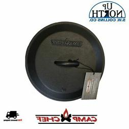 Camp Chef Cast Iron 12-inch Skillet Lid