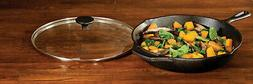 Cast Iron Skillet W/ Assist Handle 12 Inch. Frying Pan Home