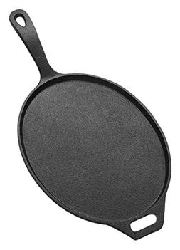 American Metalcraft CILO12 Low-Profile Oval Cast Iron Pans,