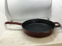 "Martha Stewart  Collector's Enameled Cast Iron 10"" skillet"