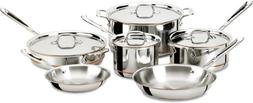 All-Clad Copper Core 10 Piece Cookware Set