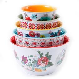 The Pioneer Woman Country Garden Nesting Mixing Bowl Set 10-