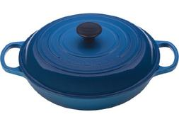 Le Creuset Enamel Coated Cast Iron 1.5 Qt Braiser, Marseille