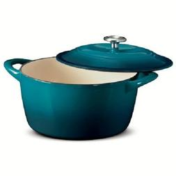 Tramontina Enameled Cast Iron 6.5 Qt Covered Round Dutch Ove