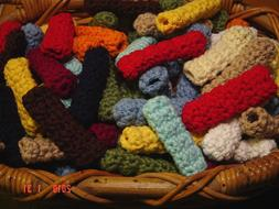 Hand Crocheted Hothandles for Cast Iron Skillet - Color choi
