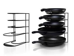 Heavy Duty Pot Rack Pan Organizer - Kitchen Organization and