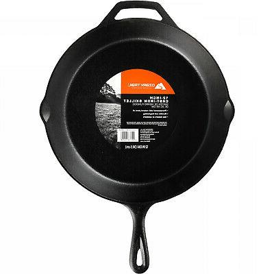 With Handle Pre-Seasoned Camping Outdoor Cookware