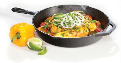 Lodge Pre-Seasoned 12 Cast Iron Skillet Pan With Assist