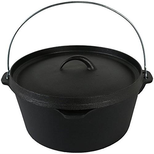 cast iron deep dutch oven
