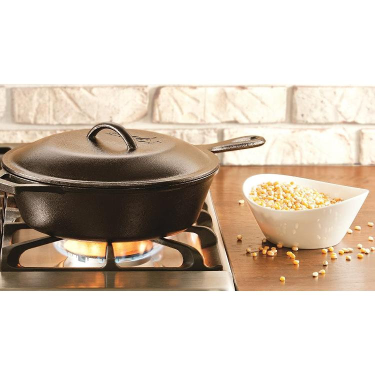 Skillet With Bread Chicken Cook Pan