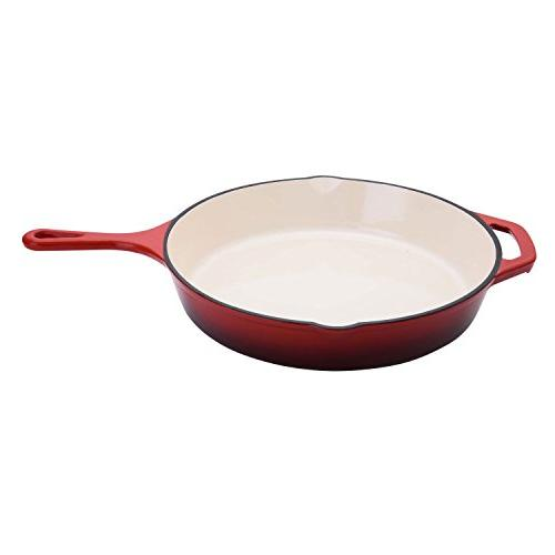 "Hamilton Beach 12"" Cast Iron Fry Pan + 10"" 8"""
