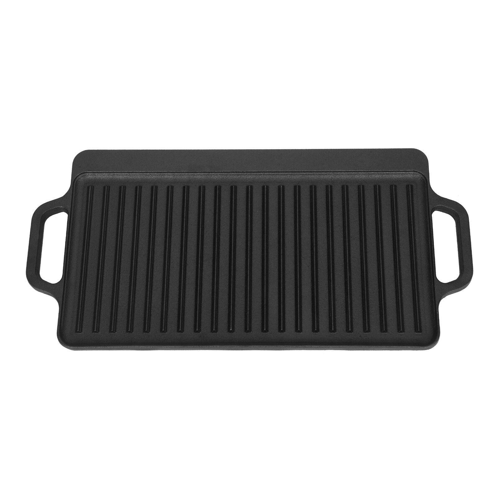 Cast Iron Griddle Reversible Grill Camp Top
