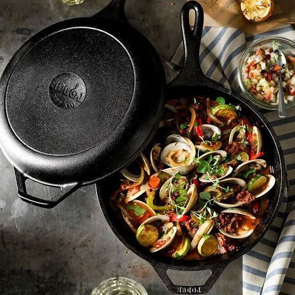 "Cast Skillet 10.25"" Pre Seasoned Pan Cookware"