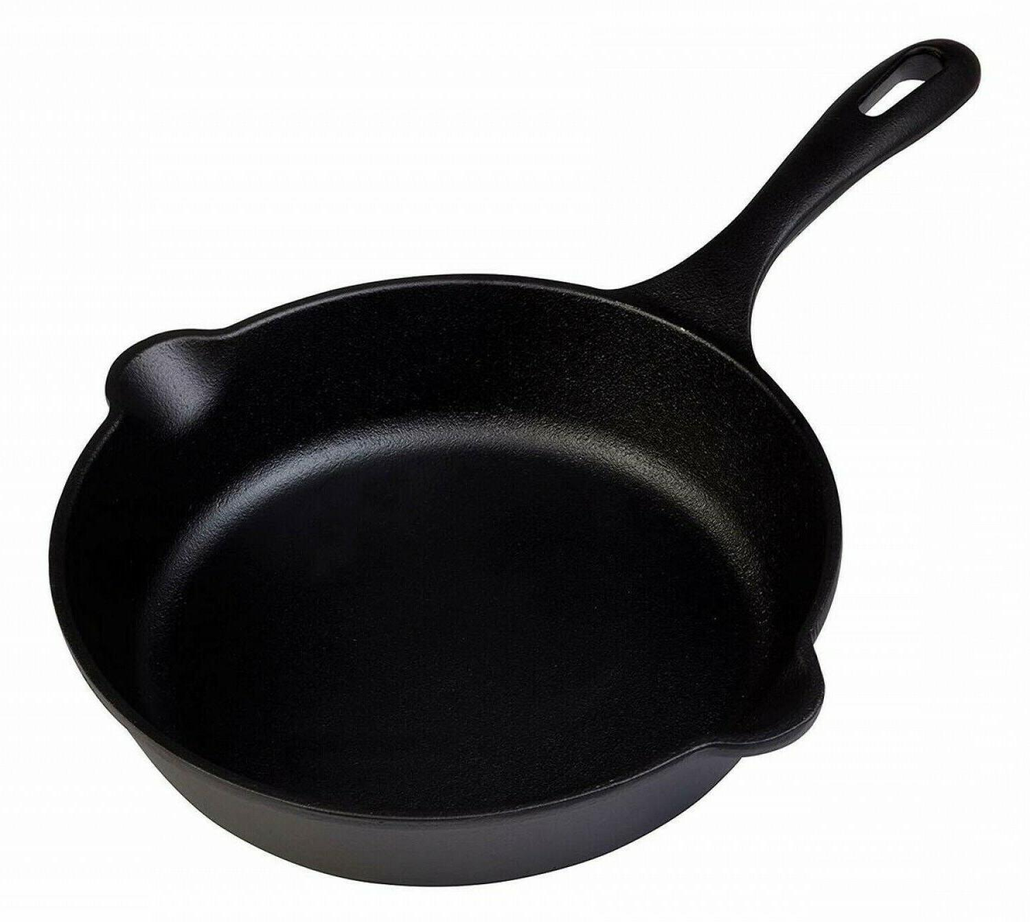 Cast Iron Pan 8-inch Camping