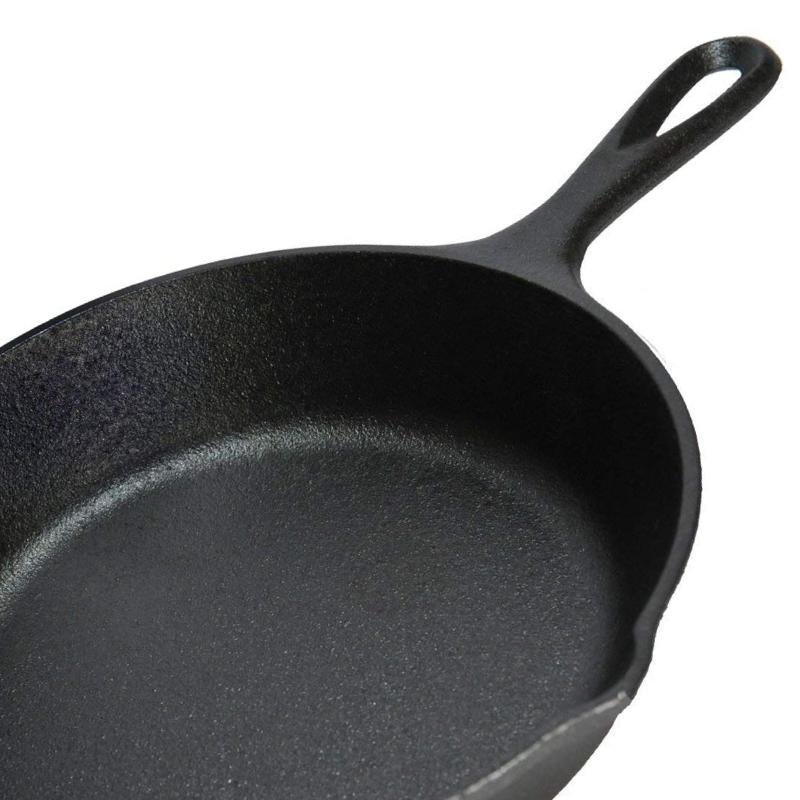 Cast Baking Frying Cooking Camping Pan