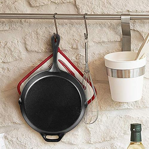 Cast Iron Skillet, Pre-Seasoned - 2 Piece - Best Chef Tools Indoor Outdoor