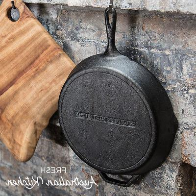 NEW 12 Inch Pre-Seasoned Cast Iron 12""
