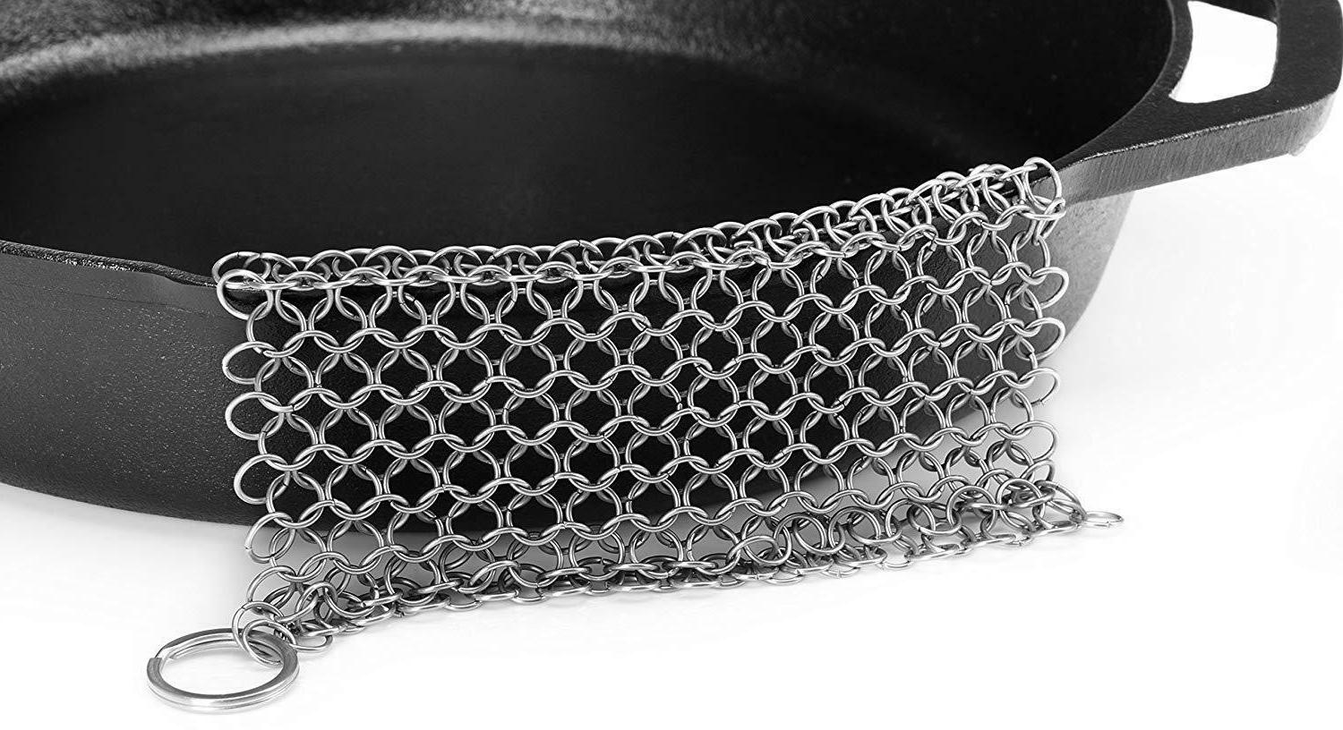 Chainmail Stainless Cast Iron Cookware Utopia