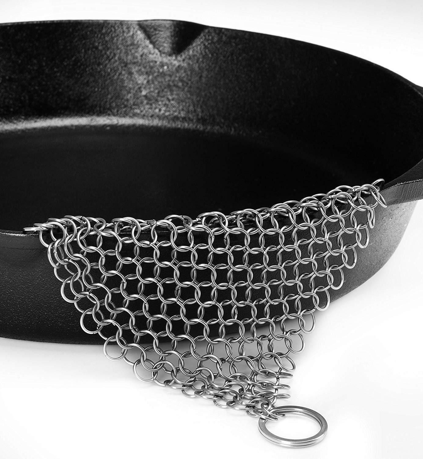 Chainmail Scrubber Stainless Steel Cast Utopia