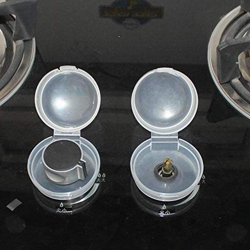 clear safety stove oven knob