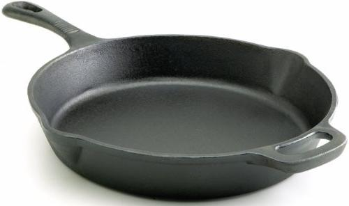 T-fal Pre-Seasoned Fry Cookware, Black
