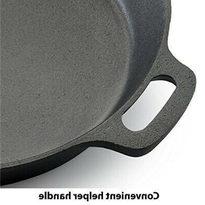 e83407 seasoned nonstick durable cast