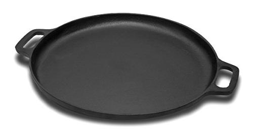 Pre-Seasoned Cast and Pan Finish, Enhanced Retention and Oven, Grill