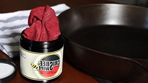 Crisbee Seasoning - Family in The Cast Iron Seasoning & Conditioner Preferred the - a