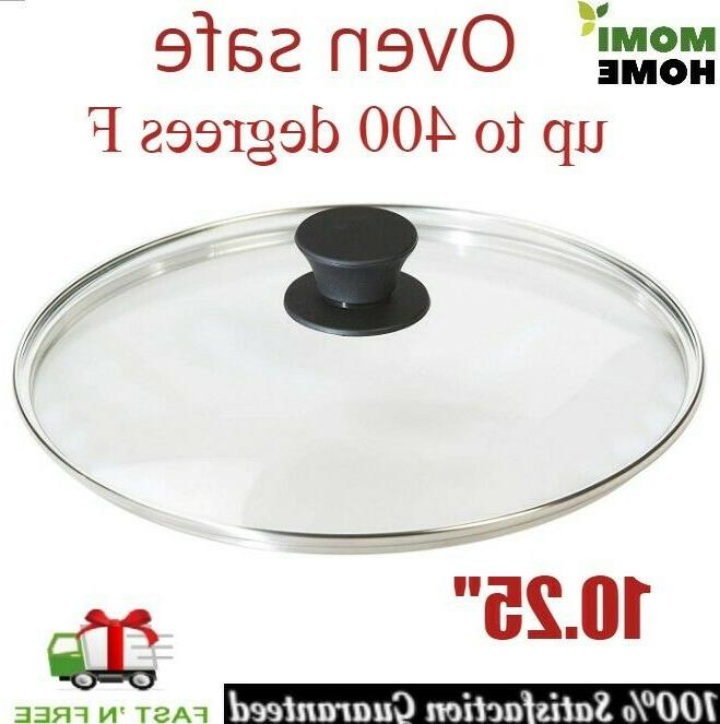 tempered glass lid 10 25 inch