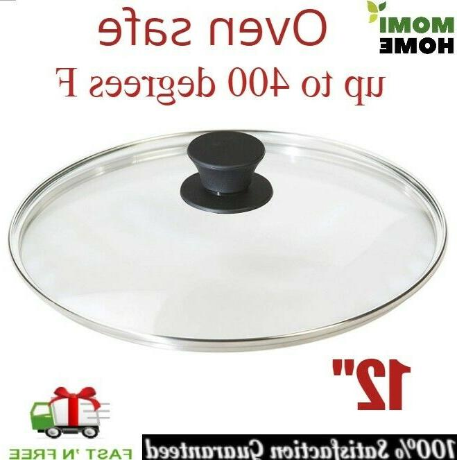 tempered glass lid 12 inch for cast