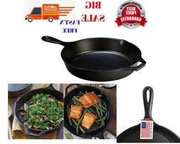 Lodge Cast Iron Skillet Pre-Seasoned and Ready for Stove Top