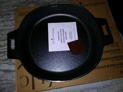 """Pampered Chef Mint Condition 12"""" Cast Iron Skillet FREE SHIP"""