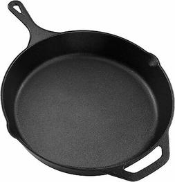 Utopia Kitchen Pre Seasoned Cast Iron Skillet