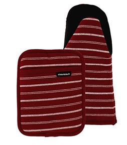 Cuisinart Puppet Oven Mitt & Potholder with Pocket Set w/Neo