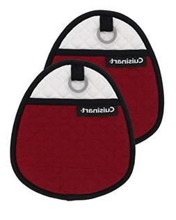 Cuisinart Quilted Silicone Potholders & Oven Mitts - Heat Re