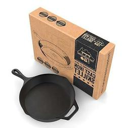 Pre-Seasoned Cast Iron Skillet 12.5 Inch by Fresh Australian